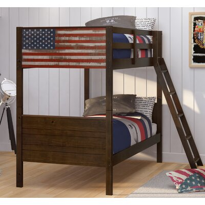 Bearfield Twin over Twin Bunk Bed