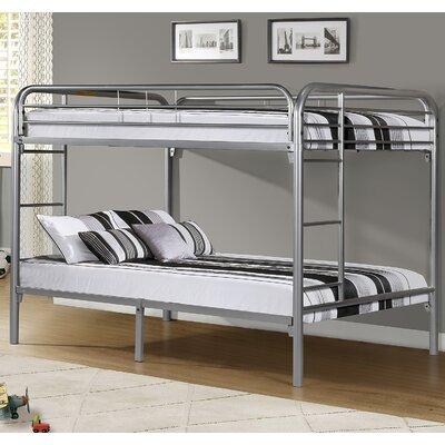 Beesley Full Metal Bunk Bed Color: Silver