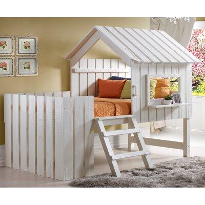Wasserhund Twin Low Loft Bed