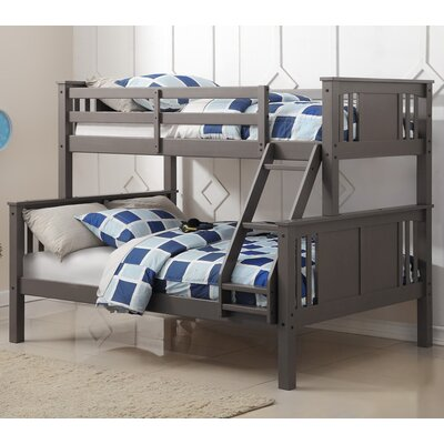 West Seattle Twin Over Full Slat Bed