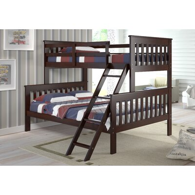 Solar Twin over Full Standard Bunk Bed Color: Dark Cappuccino