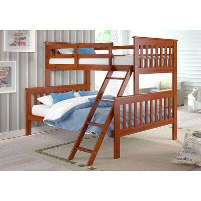 Solar Twin over Full Standard Bunk Bed Color: Light Espresso