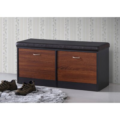 Spicer Wood Storage Bench