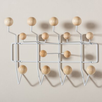 Bilokur Mid-Century Modern Light Brown Coat Hanger