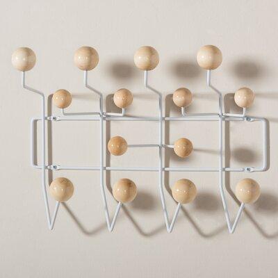 Bilokur Mid-Century Modern Light Brown Coat Hanger