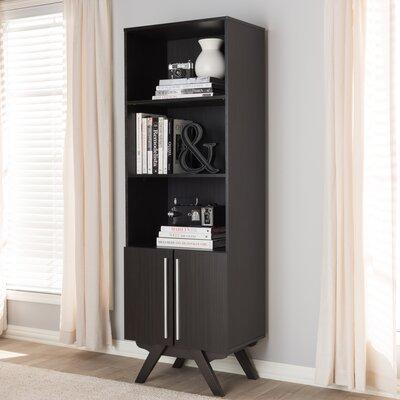 Wachtel Standard Bookcase Color: Espresso Dark Brown