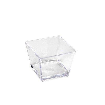 Sheratonn 8cm x 8cm Glas in Klar