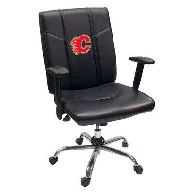 Desk Chair NHL Team: Calgary Flames - Red