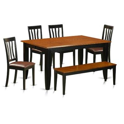 Parfait 6 Piece Extendable Dining Set