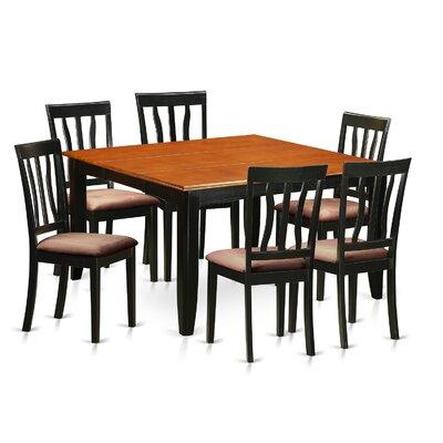 Parfait 7 Piece Extendable Dining Set
