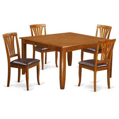 Parfait 5 Piece Extendable Dining Set