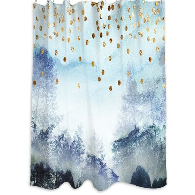 Oliver Gal Home Summer Mist Collage Shower Curtain