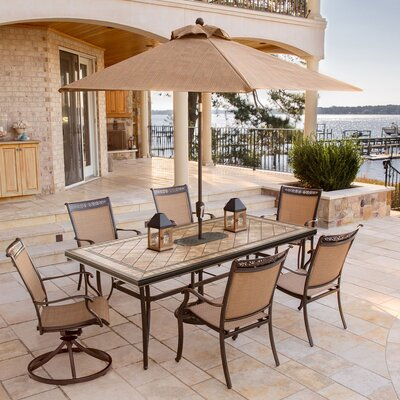 Bucher 7 Piece Dining Set