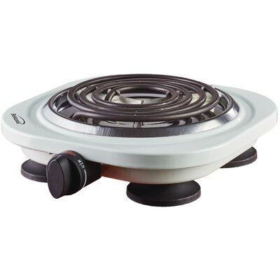 Electric Burner Color: White
