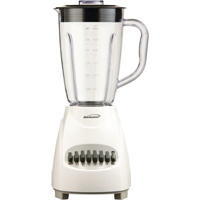 12 Speed Blender Color: White
