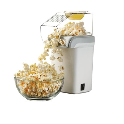Hot Air 8 Oz. Popcorn Popper Color: White