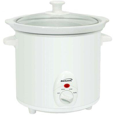 3-Quart Slow Cooker Color: White