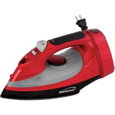 Steam Iron Color: Red