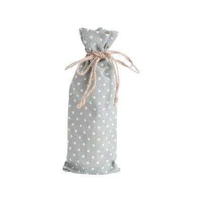 Ellie Dotted Design Bottle Bag Finish: Blue / Gray