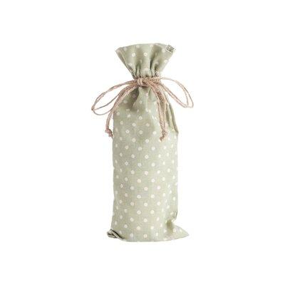 Ellie Dotted Design Bottle Bag Finish: Pistachio