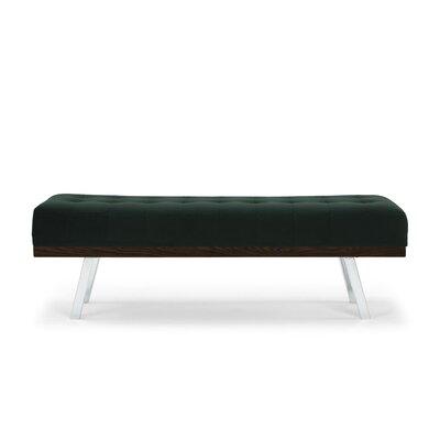 Boris Upholstered Bench Upholstery: Emerald Green