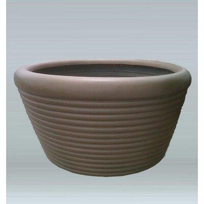 Plastic Pot Planter Color: Alabaster