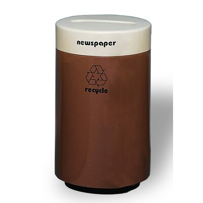 Magnum 18 Gallon Recycling Bin Color: Charcoal