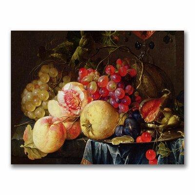 "Trademark Fine Art ""Still Life II"" by Cornelis de Heem Painting Print on Canvas"