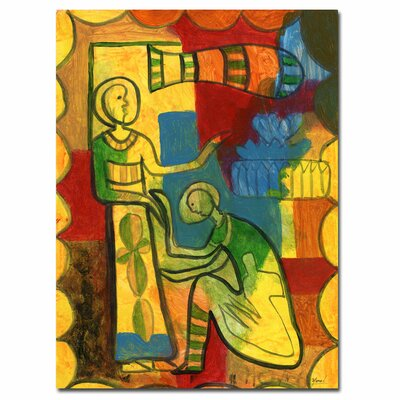 """Trademark Fine Art """"For You"""" by Yonel Framed Painting Print on Wrapped Canvas"""