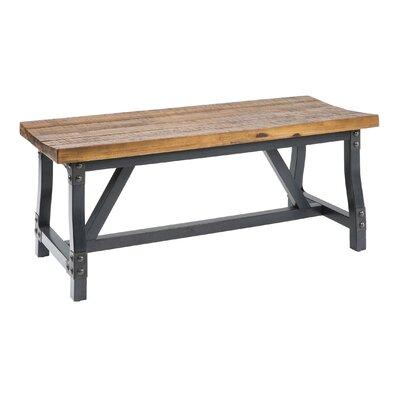 """Caseareo Bench Size: 24""""H x 17""""W x 44""""D"""
