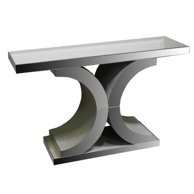Fosdick Glass Console Table