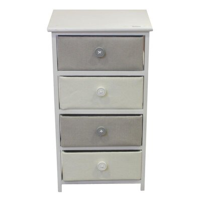 Lettie Wooden 4 Drawer Chest