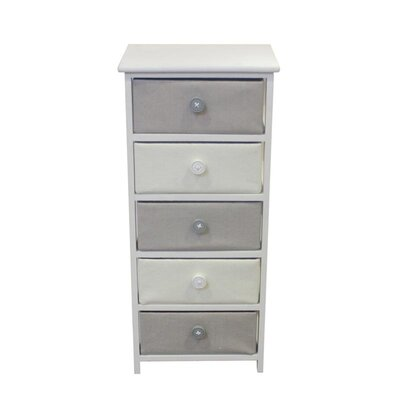 Callensburg Wooden 5 Drawer Chest