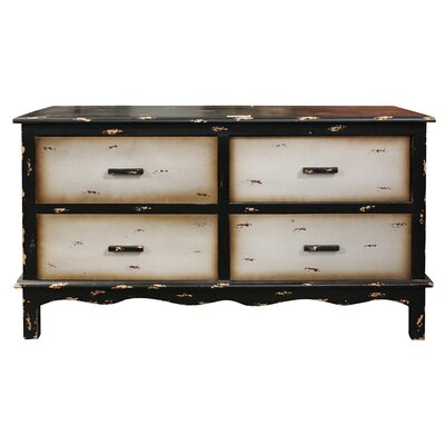 Cavandale Wooden 4 Drawer Chest