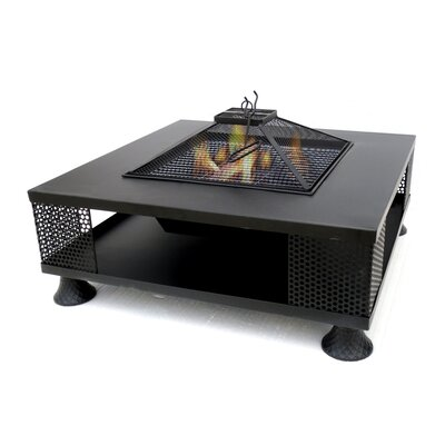 Metal Fire Pit Table