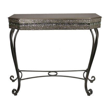 Ebright Metal Console Table