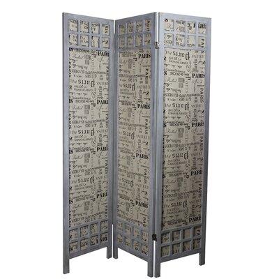 Paulownia 3 Panel Room Divider