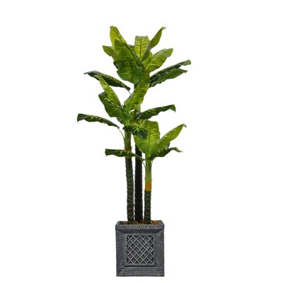 Real Touch Floor Evergreen Tree in Planter