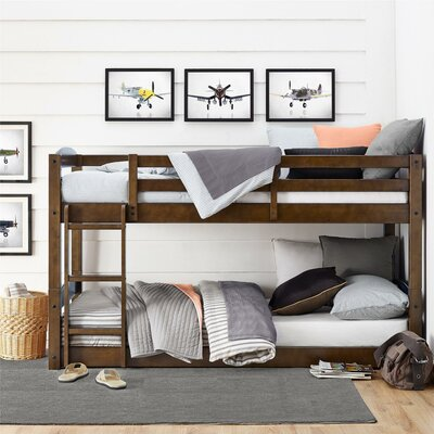 Daleyza Twin Bunk Bed Bed Frame Color: Mocha