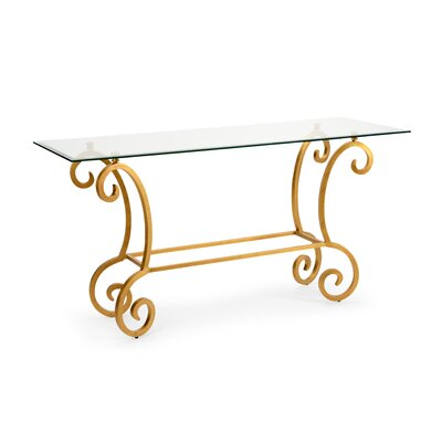 Chelsea House Amber Console Table