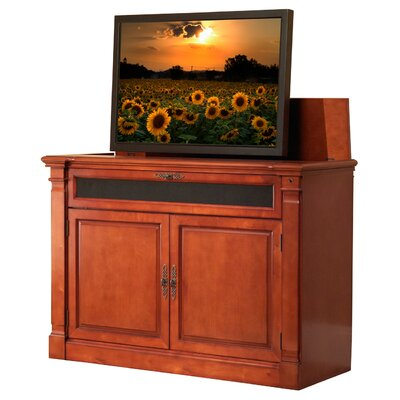 """Adonzo 59"""" TV Stand Color: Cherry Finish"""
