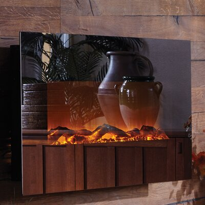 Mirror Onyx? Wall Mounted Electric Fireplace