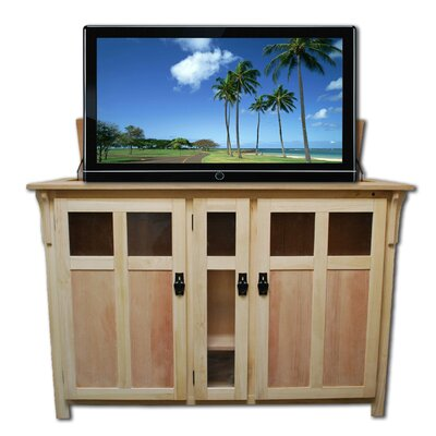 """Bungalow 61.5"""" TV Stand Color: Unfinished"""