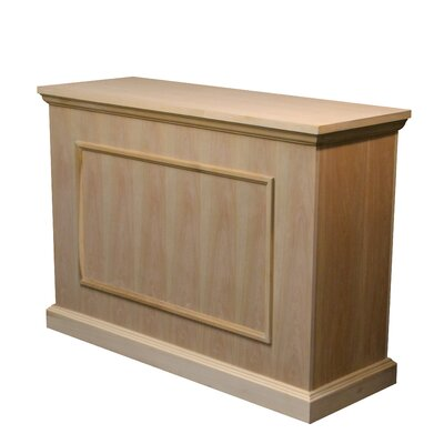 """Elevate 47"""" TV Stand Color: Unfinished"""