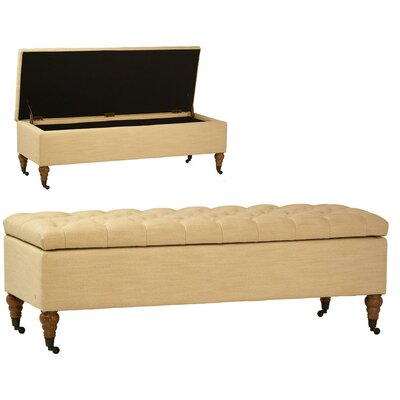 Abdul-Salaam Upholstered Storage Bench