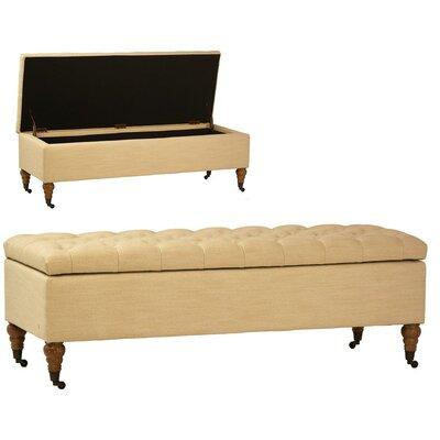 Abdul-Salaam Upholstered Storage Bench
