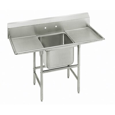 940 Series Single Seamless Bowl Scullery Sink Width: 56""