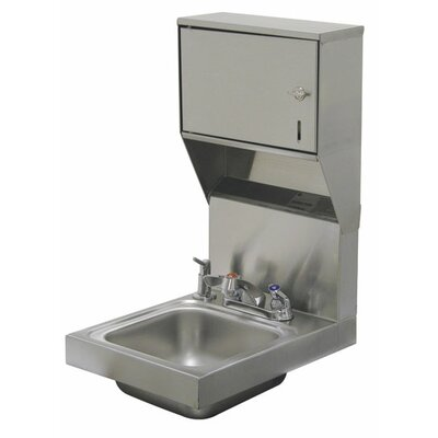 "Super Saver 12"" x 16"" Single Hand Sink with Faucet"