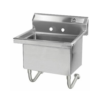"Wall Mount 72"" x 19.5"" Service Sink"