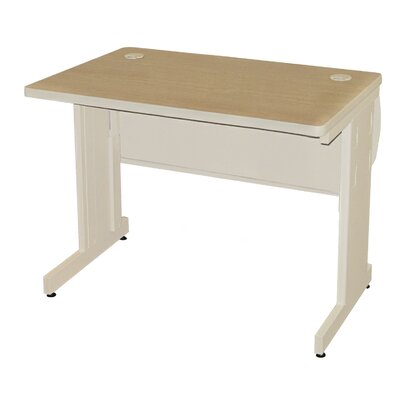 "36"" W Pronto Training Table Tabletop Finish: Oak Laminate/Putty, Size: 29"" H x 36"" W x 24"" D"